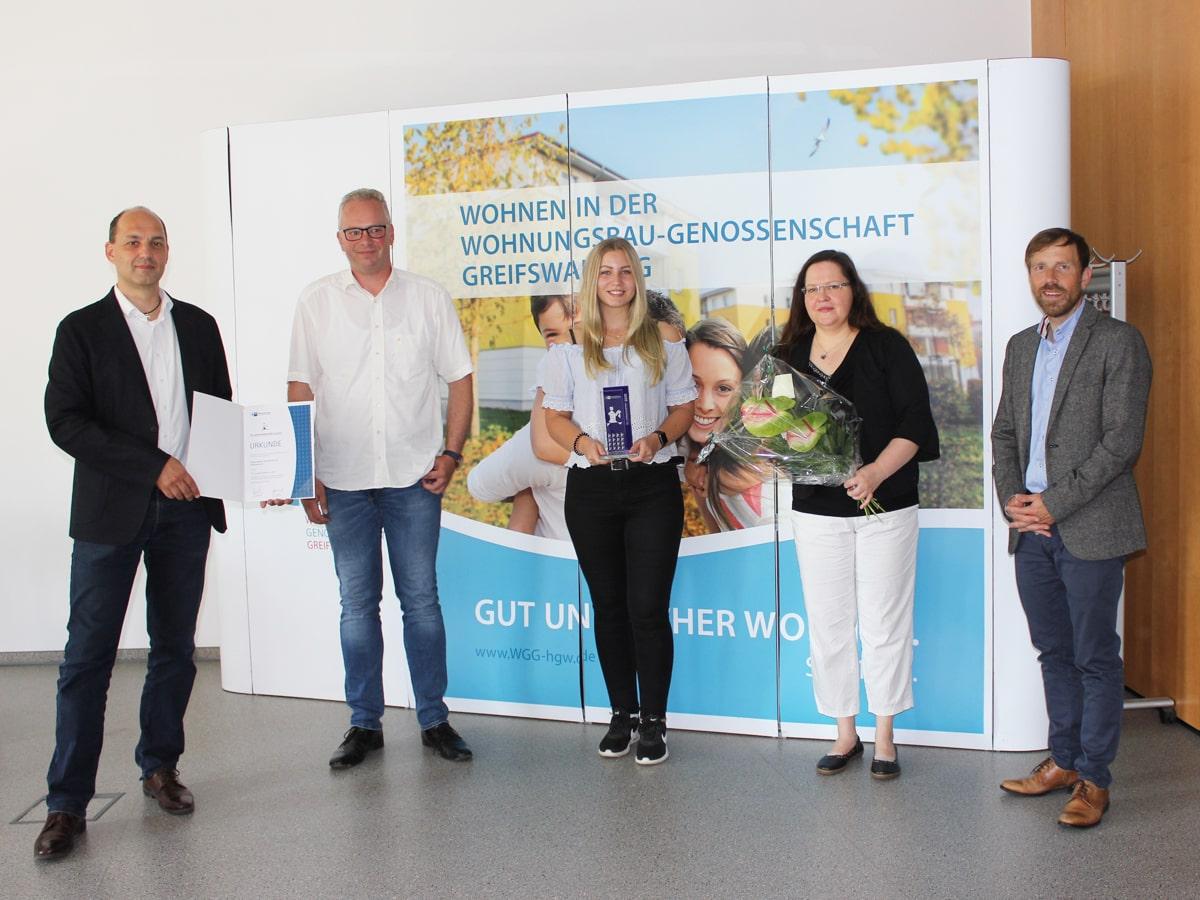 Verleihung des TOP Ausbildungsbetriebs in Greifswald