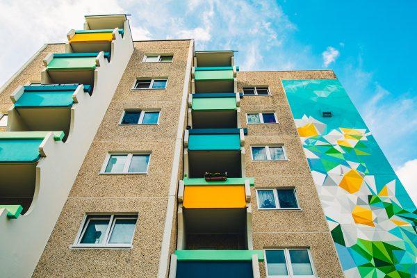 Instandsetzungen von Wohnungen durch die Wohnungsbau-Genossenschaft Greifswald