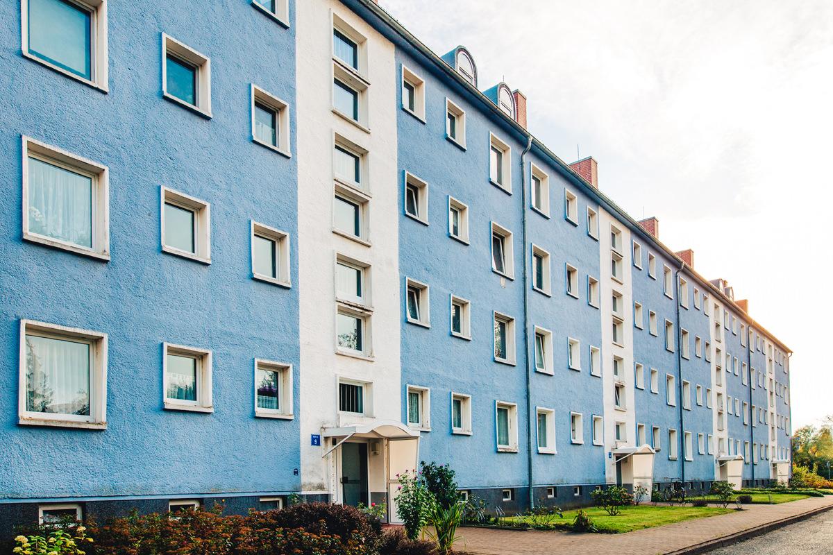 gaestewohnung wgg Karl-Behrendt-Weg suedstadt fassade