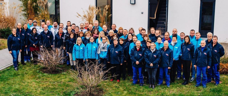 Gruppenfoto aller WGG Mitarbeiter