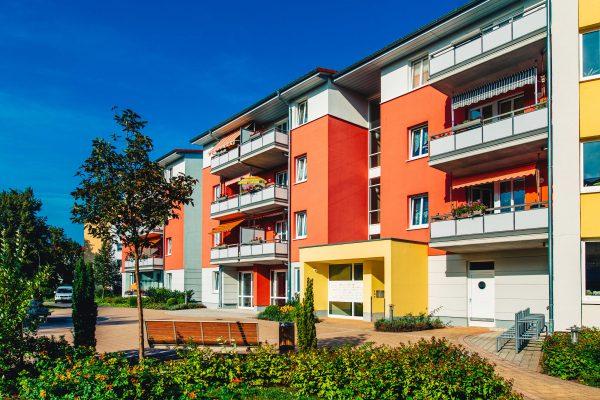 Wohnungen in der Greifswalder Südstadt von der Wohnungsbau-Genossenschaft