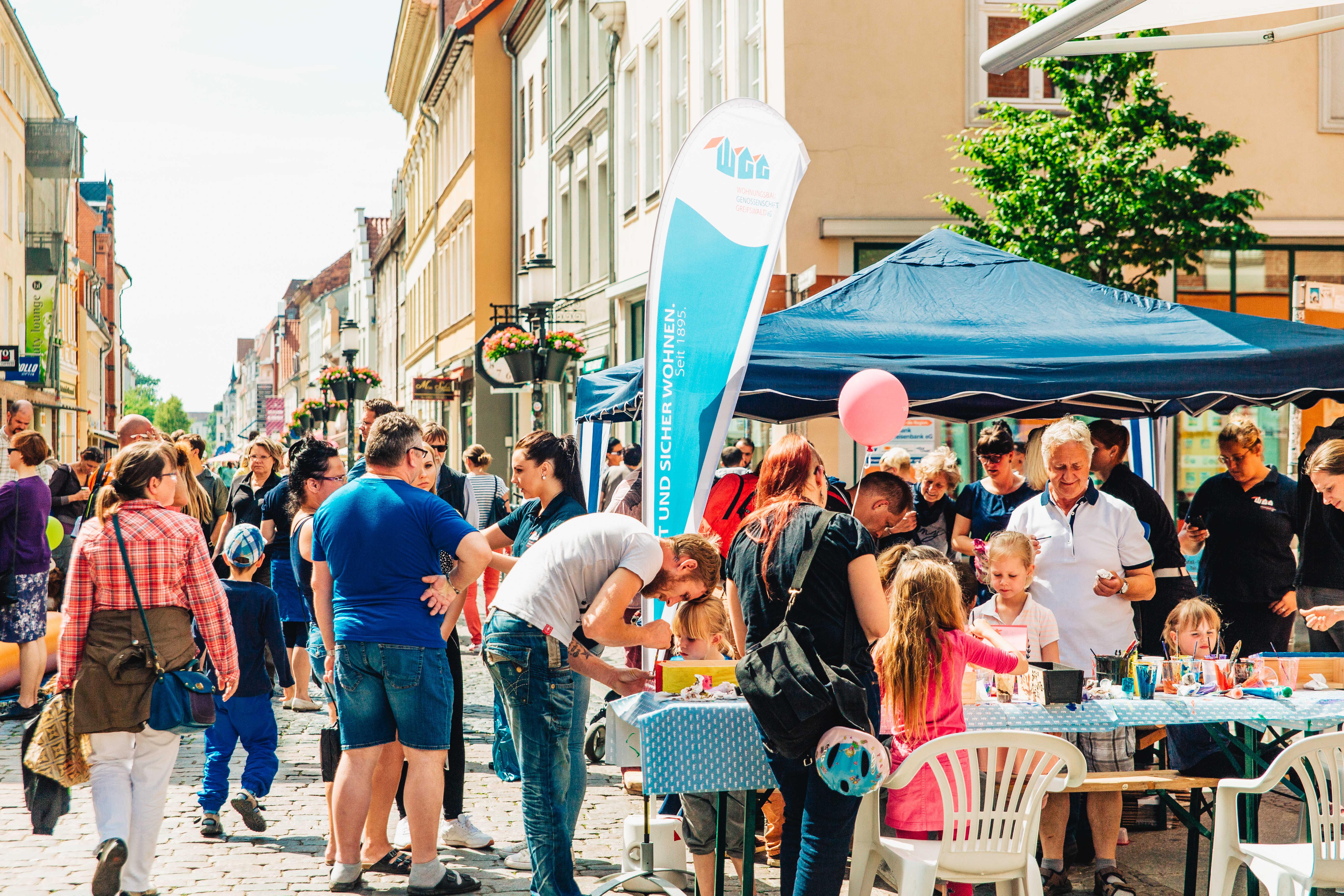 Kinderfest der Wohnungsbau-Genossenschaft Greifswald
